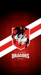 St George Dragons iPhone X Lock Screen Wallpaper a photo on Flickriver