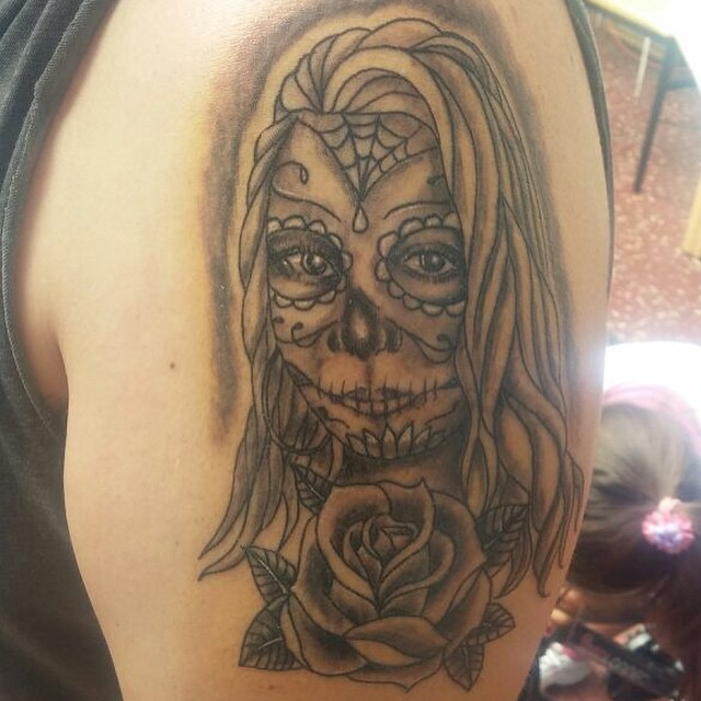 Catrina Rostro Face Femme Girl Mujer Guayaquiltatto Flickr