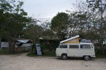 Camping at the wildlifecenter
