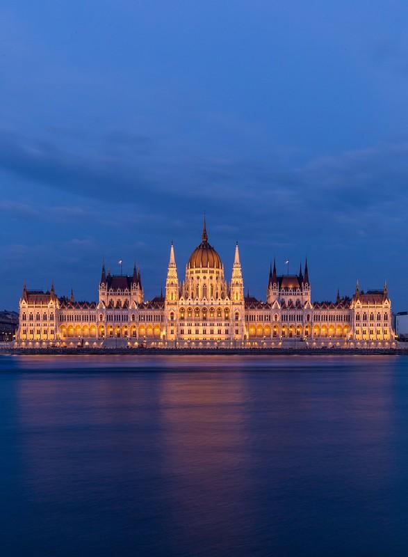 Blue Hour & Golden Parliament