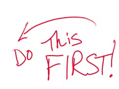 Image result for do this first