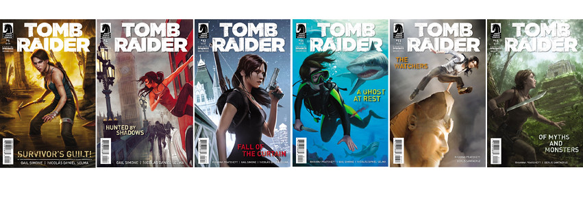 tomb raider comics dark