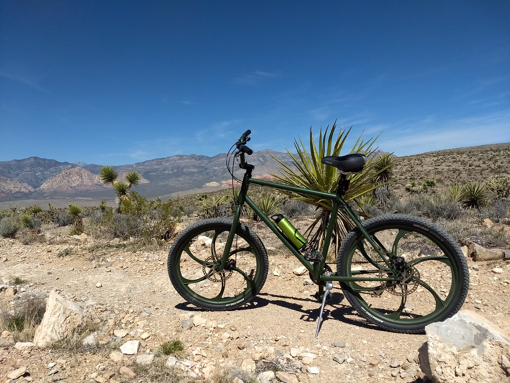 My Security Rental Bike in Vegas @ Red Rock Canyon