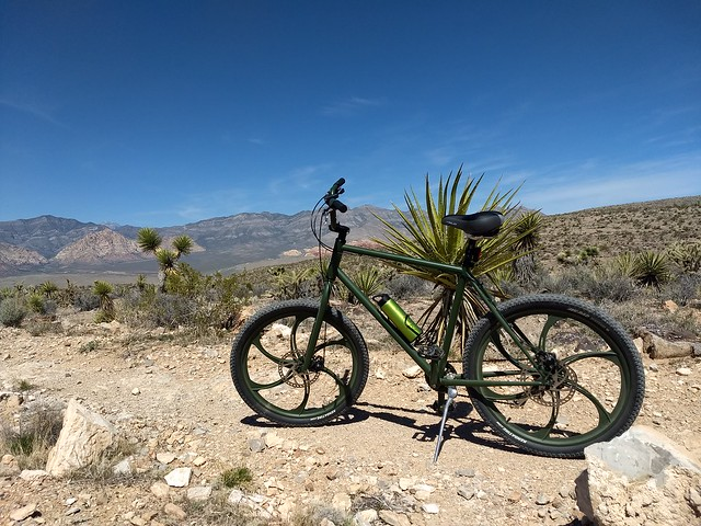 My Security Rental Bike in Vegas @ Red Rock Canyon