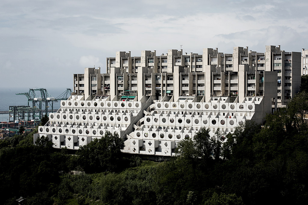 Housing Complex Quot Pegli 3 Quot Also Called Quot Le Lavatrici Quot The