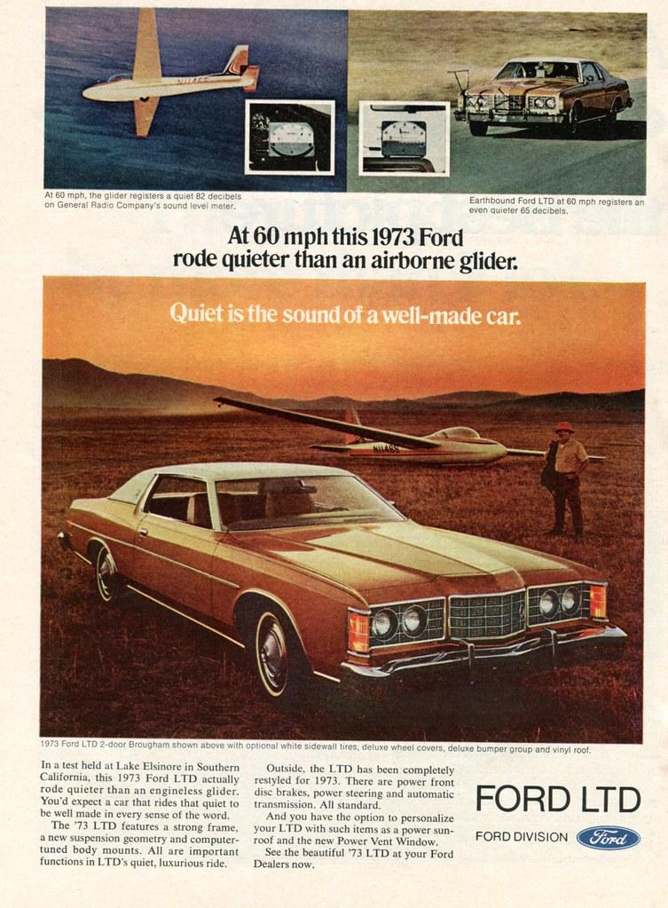 73 Ford Ltd : Advertisement, Newsweek, February, Flickr