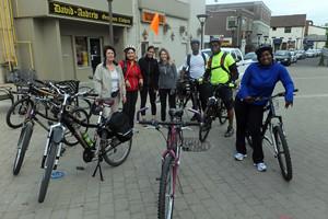 2015 02 BikeToWorkDay Heart Lake group ride Garden Square_300