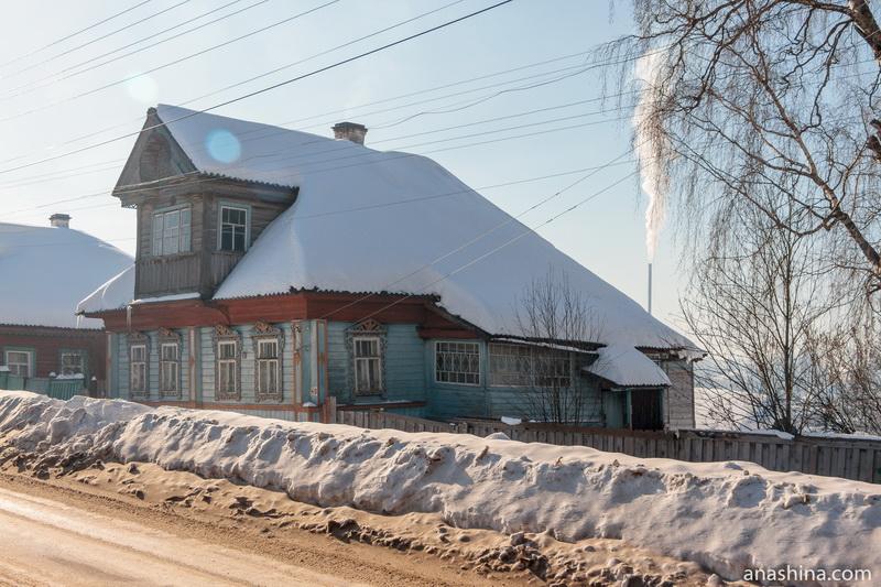 Старинный дом на Коммунистической улице, Солигалич