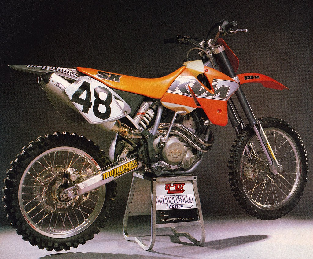 hight resolution of  2000 ktm 520 sx f by tony blazier