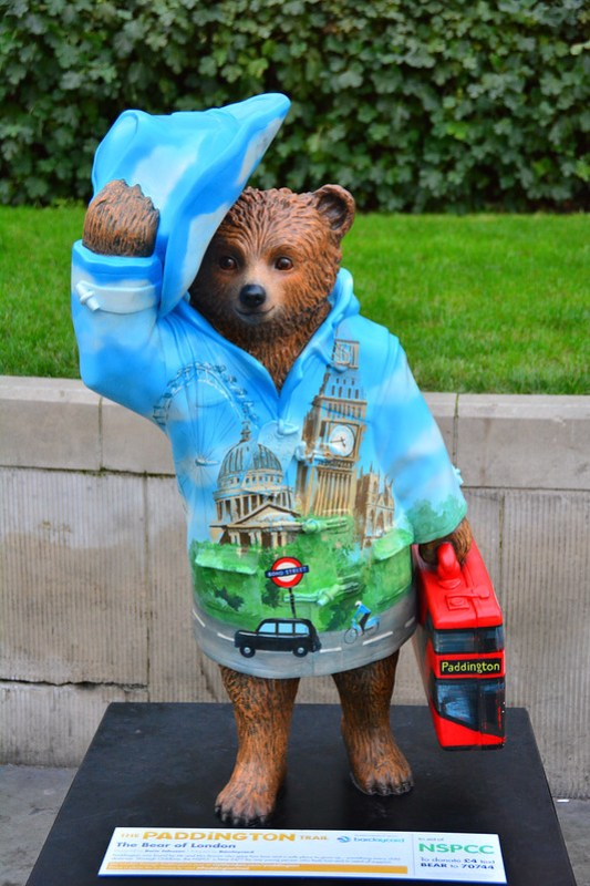 London, Paddington, The Bear Of London, By Boris Johnson