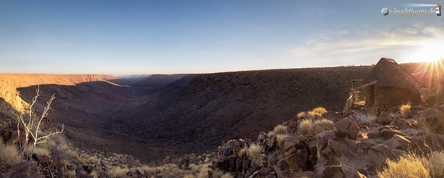 Etendeka Plateau at sunset