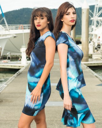 Zodia Sheath Dress | Fire Sheath Dress