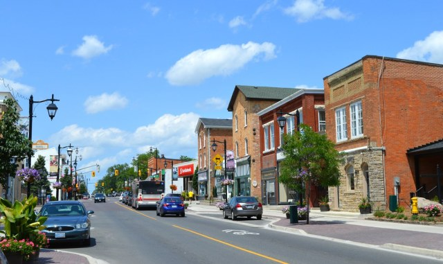 Smalltown Southern Ontario .... Main Street .... Town Of M… | Flickr