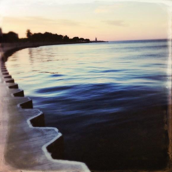 Lake Michigan at Dusk, number 713