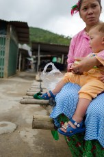 Hmong Girl and a Child.