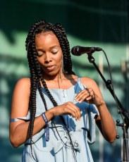 Jamila Woods @ Pitchfork Music Festival, Chicago IL 2017
