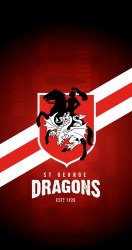 St George Dragons iPhone 6/7/8 Lock Screen Wallpaper a photo on Flickriver
