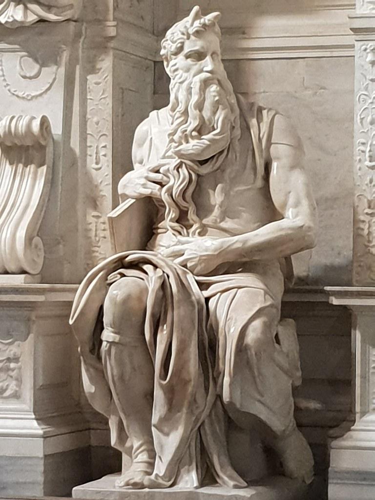 El Moiss de Miguel ngel Moses by Michelangelo Buonarro