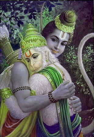 ram hanuman milap the
