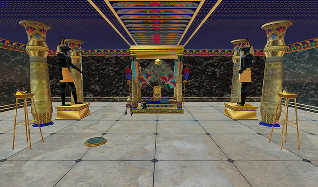 Egyptian Temple Throne Room  More of Aura Lilys