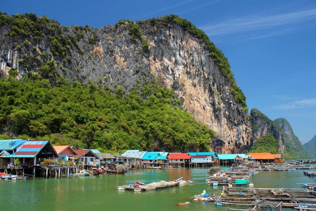 Phuket: Koh Panyee (Pfahlbausiedlung)