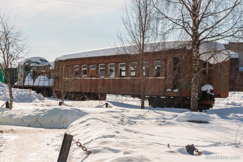 Старые поезда, Солигалич