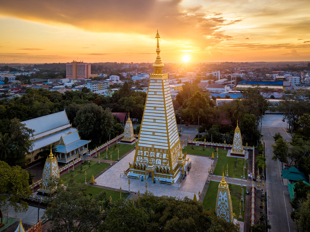Wat Phra That Nong Bua Is A Dhammyuttika Temple One Of Im