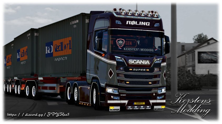 Roling with their Scania S!
