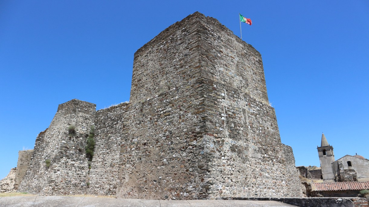 Castillo y Fortaleza de Juromenha en el Alentejo Portugués.