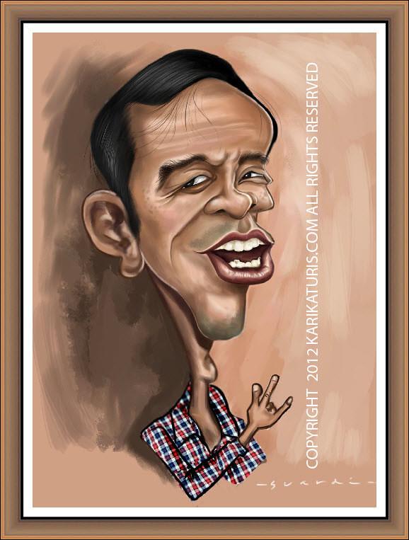 ✓ Terbaru Contoh Gambar Karikatur Pak Jokowi