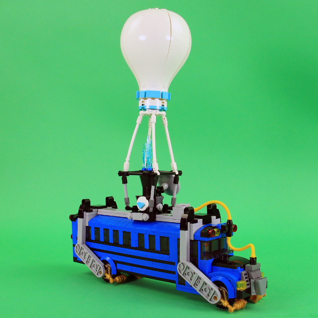 LEGO Fortnite Battle Bus  Learn more about this MOC in