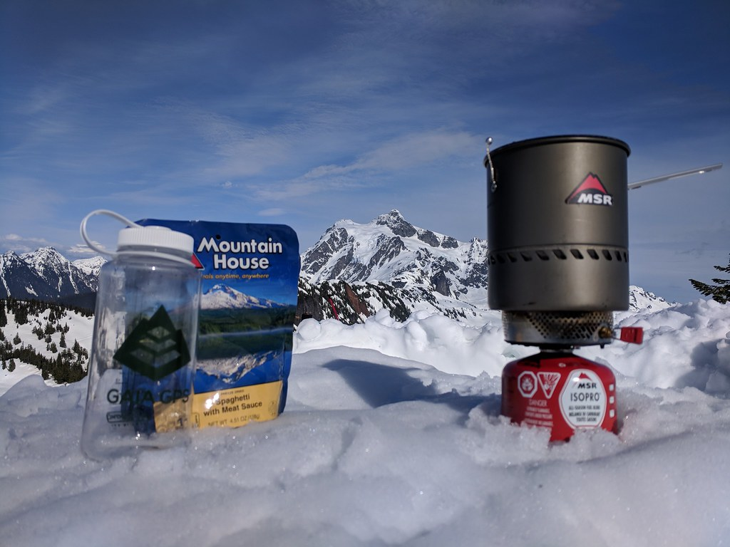Mountaineering food