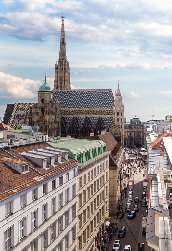 The View to Stephansdom