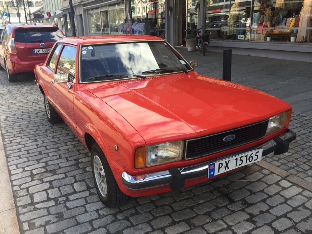 medium resolution of  1977 ford taunus 1 6 by older and rare cars in norway