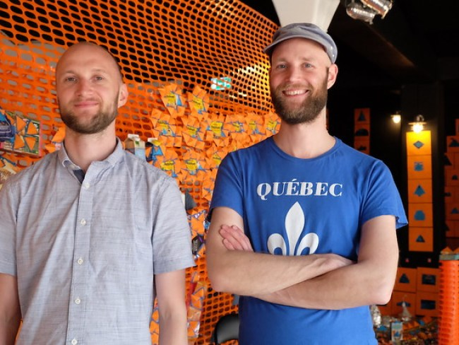 Christoph och Sebastian Mügge – Do you wanna play Duck and Cover with us?