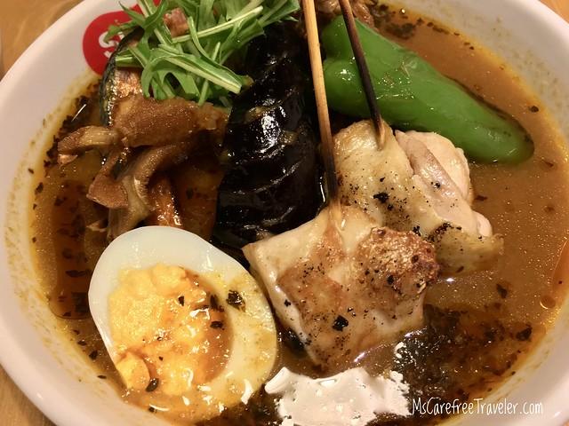 Suage Soup Curry Sapporo Hokkaido Japan