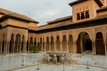 De Patio de los Leones (de leeuwen patio).
