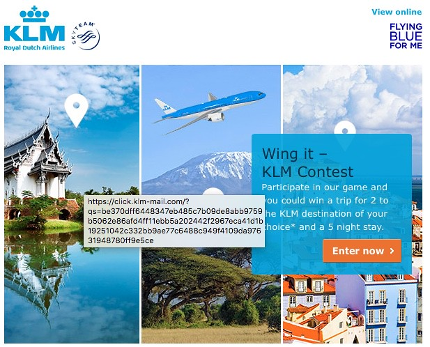 KLM Wing It Contest