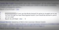 Death Threat on Facebook