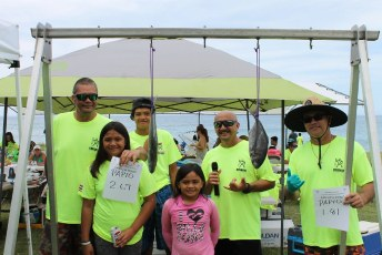 2018 HPower Beach Clean Up n Fishing Tournament
