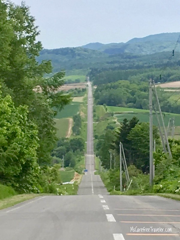 Path of the Roller Coaster Furano Hokkaido Japan