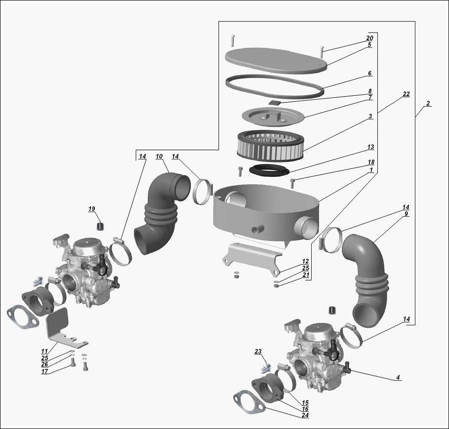 Model details imz ural russian sidecar motorcycles diagram 15 0003 3970