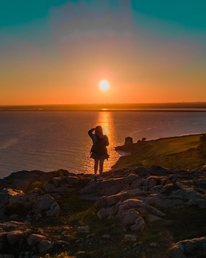 Dublin Sunset - Sutton, Howth Cliff Walk