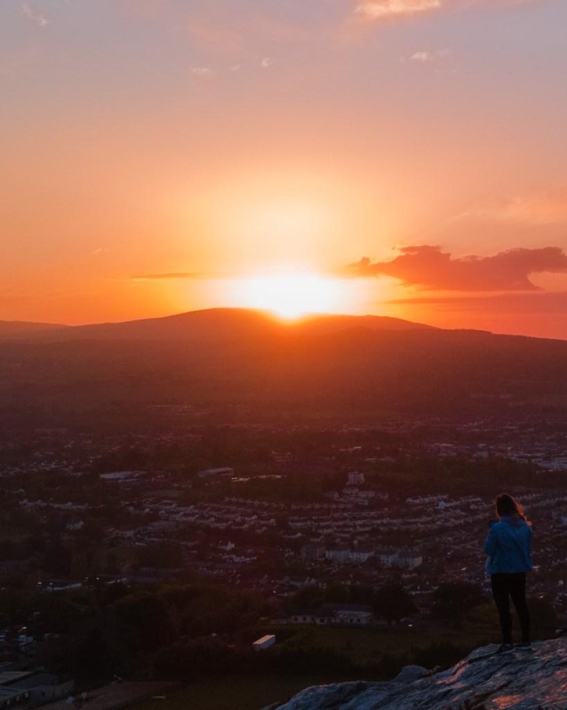 Wicklow Sunset - Bray Head