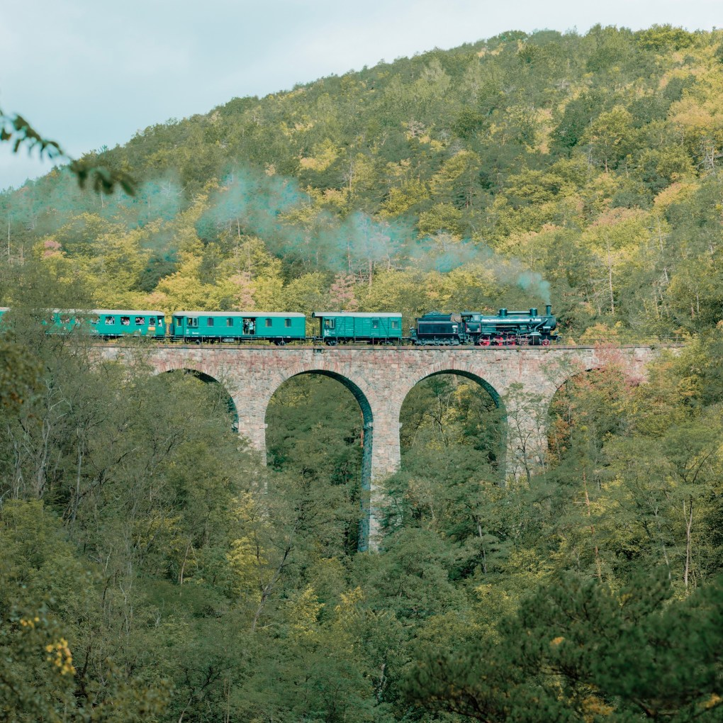 Train View from Interrail Itinerary