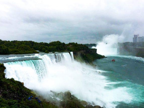 new york to los angeles road trip Niagara Falls