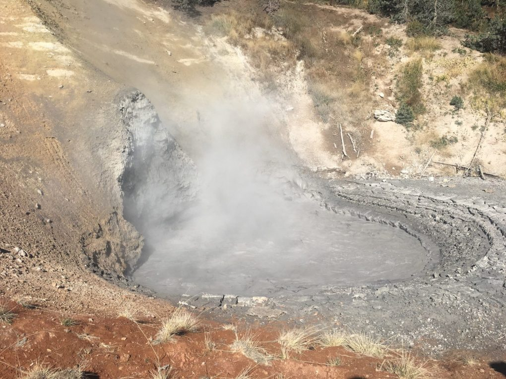 Mud Volcano from 2 days in yellowstone
