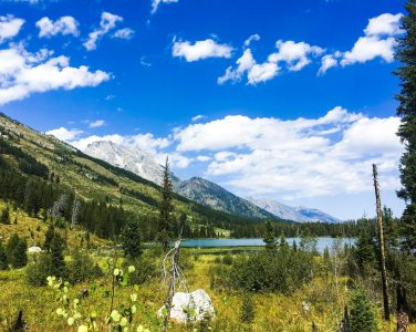 Hiking Grand Tetons Spring Lake