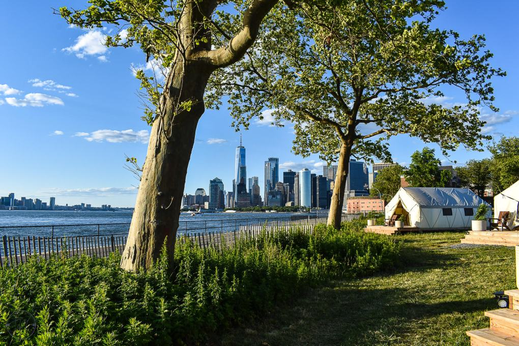 Glamping at Governor's Island