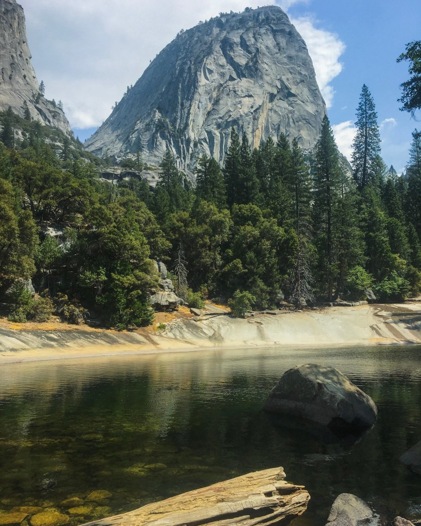 2 Day Yosemite Itinerary View of El Capitan on the Mist Trail